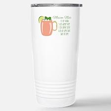 Moscow Mule Recipe Travel Mug