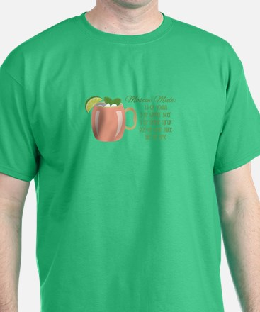 Moscow Mule Recipe T-Shirt