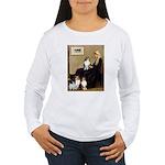Whistler's / 3 Shelties Women's Long Sleeve T-Shir