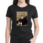 Whistler's / 3 Shelties Women's Dark T-Shirt