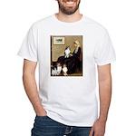 Whistler's / 3 Shelties White T-Shirt