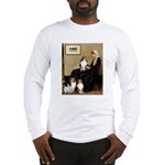 Whistler's / 3 Shelties Long Sleeve T-Shirt