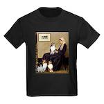 Whistler's / 3 Shelties Kids Dark T-Shirt