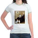 Whistler's / 3 Shelties Jr. Ringer T-Shirt