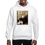 Whistler's / 3 Shelties Hooded Sweatshirt