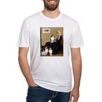 Whistler's / 3 Shelties Fitted T-Shirt