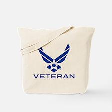 U.S. Air Force Logo Veteran Tote Bag