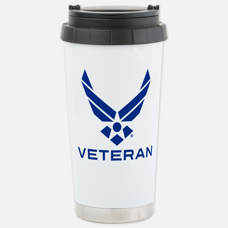 U.S. Air Force Seal Vet Travel Mug