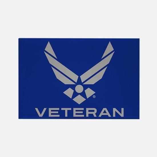 U.S. Air Force Logo Veteran Rectangle Magnet
