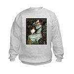 Ophelia / Shelie tri Kids Sweatshirt