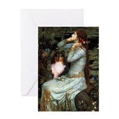 Ophelia / Shelie tri Greeting Card