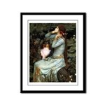 Ophelia / Shelie tri Framed Panel Print