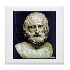 Euripides Tile Coaster