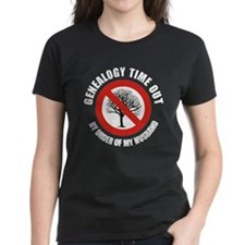 Genealogy Timeout (F) Tee