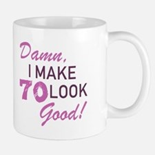 70th Birthday Humor Mugs