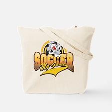 Soccer My Game Tote Bag