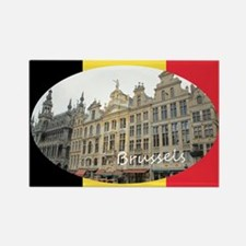 Brussels Rectangle Magnet