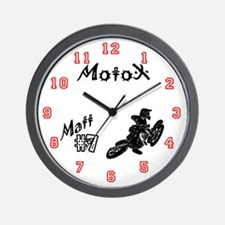 Matt's Motocross Wall Clock