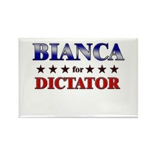 BIANCA for dictator Rectangle Magnet (10 pack)