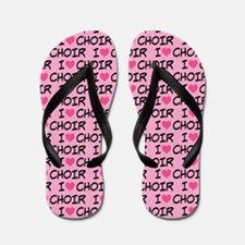Choir Music Gift Flip Flops