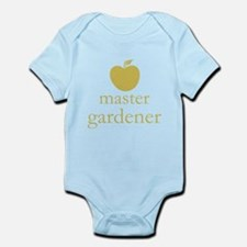 Cute Yellow Apple Master Gardener Body Suit