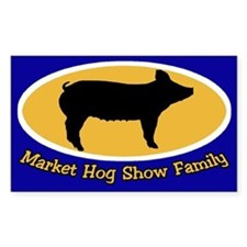 Hog Show Sticker Family