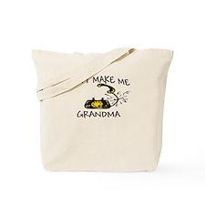 Don't Make Me Call My Grandma Tote Bag