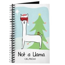 Larry Not a Llama Christmas Journal