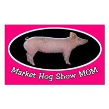 Hog Show Sticker Mom