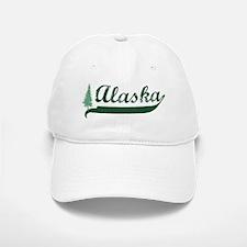 Alaska - Green Baseball Baseball Cap