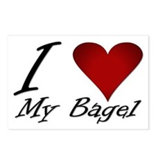 I Love My Bagel Postcards (Package of 8)