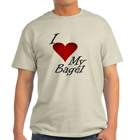 I Love My Bagel Light T-Shirt