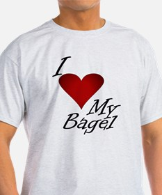 I Love My Bagel T-Shirt