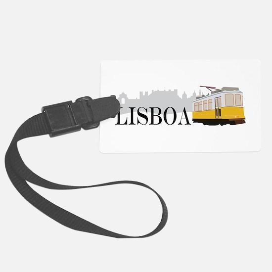 Lisboa Luggage Tag