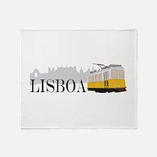 Lisboa Throw Blanket