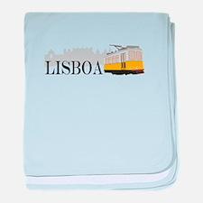 Lisboa baby blanket