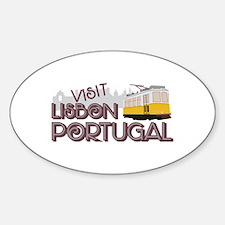 Visit Lisbon Portugal Decal