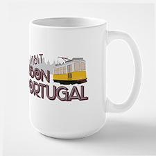 Visit Lisbon Portugal Mugs