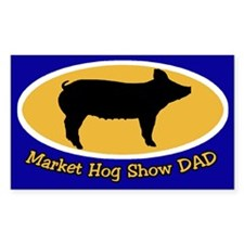 Hog Show Sticker Dad