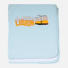 Lisbon baby blanket