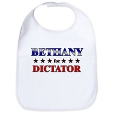 BETHANY for dictator Bib