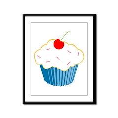 Cupcake Framed Panel Print