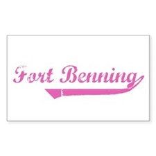 Fort Benning Rectangle Decal