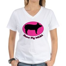 Show Pig Mom Shirt