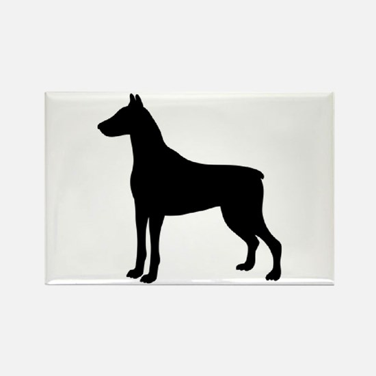 Doberman Two 2 Magnets