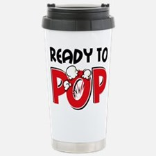 Ready To Pop Stainless Steel Travel Mug
