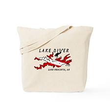 Lake Dive Ouachita, AR Tote Bag