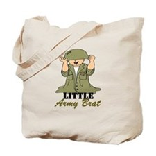 Army BRAT Little Soldier Tote Bag