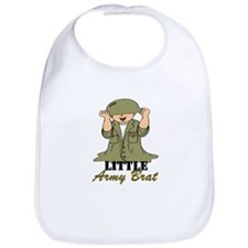 Army BRAT Little Soldier Bib