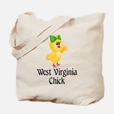 West Virginia Chick Tote Bag